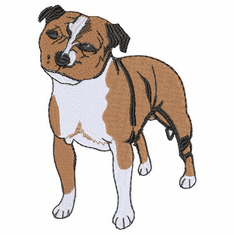 pbt016 Pit Bull Terrier (small or large design)