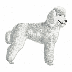pood001 Poodle (small or large design)