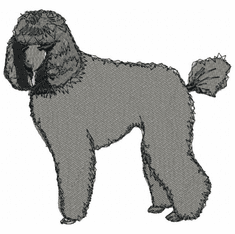 pood016 Poodle (small or large design)
