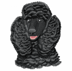 pood022 Poodle (small or large design)