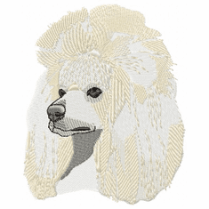 pood031 Poodle (small or large design)