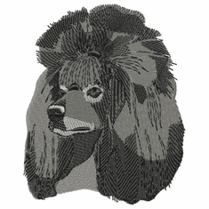 pood032 Poodle (small or large design)