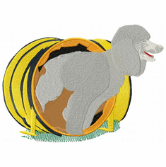 pood039 Poodle (small or large design)