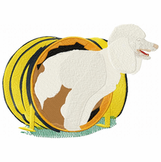 pood040 Poodle (small or large design)