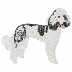 pood047 Poodle (small or large design)