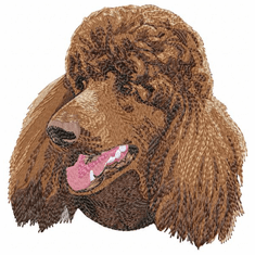 pood048 Poodle (small or large design)