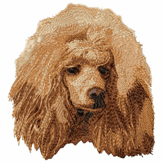 pood056 Poodle (small or large design)