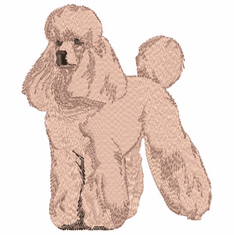 pood064 Poodle (small or large design)