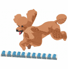 pood065 Poodle (small or large design)