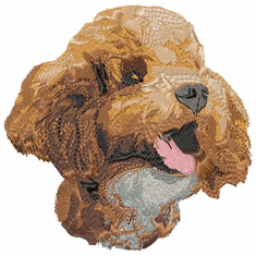 pood066 Poodle (small or large design)
