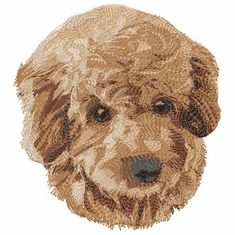 pood067 Poodle (small or large design)