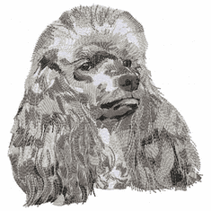 pood071 Poodle (small or large design)