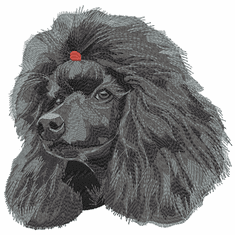 pood086 Poodle (small or large design)