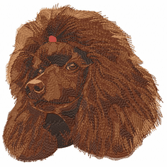pood087 Poodle (small or large design)