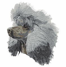 poodle090 Poodle (small or large design)