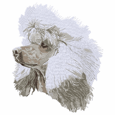 poodle093 Poodle (small or large design)