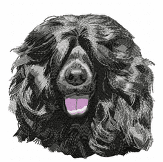 pwd005 Portuguese Water Dog (small or large design)