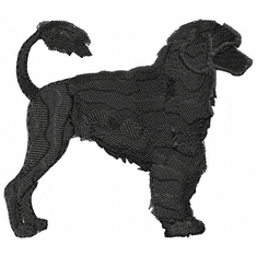 pwd010 Portuguese Water Dog (small or large design)