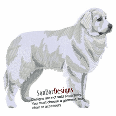 pyrenees001 Great Pyrenees (small or large design)