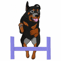 rott004 Rottweiler (small or large design)