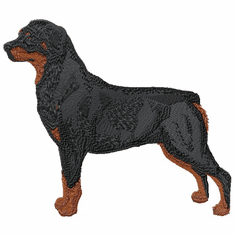 rott011 Rottweiler (small or large design)