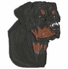 rott013 Rottweiler (small or large design)
