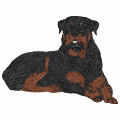 rott016 Rottweiler (small or large design)