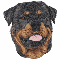rott017 Rottweiler (small or large design)
