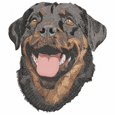 rott021 Rottweiler (small or large design)