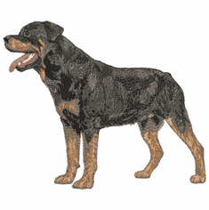 rott022 Rottweiler (small or large design)