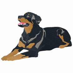 rott027 Rottweiler (small or large design)