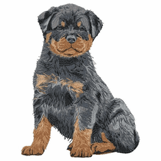 rott028 Rottweiler (small or large design)