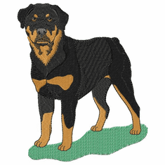 rott033 Rottweiler (small or large design)