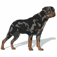 rott034 Rottweiler (small or large design)