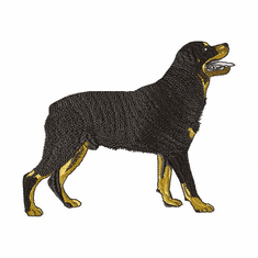 rott036 Rottweiler (small or large design)
