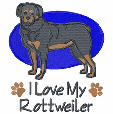 rott041 Rottweiler (small or large design)