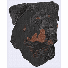 rott044 Rottweiler (small or large design)