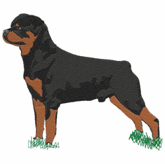 rott045 Rottweiler (small or large design)
