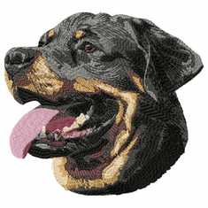 rott046 Rottweiler (small or large design)