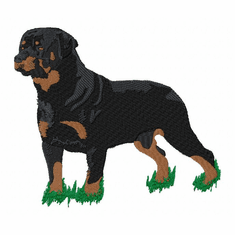 rott052 Rottweiler (small or large design)