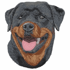 rott057 Rottweiler (small or large design)