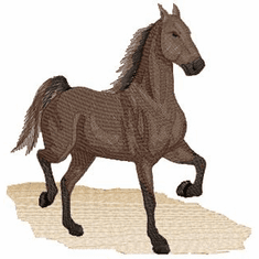 Saddlebred001 Saddlebred Horse (small or large design)