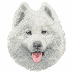 sam001 Samoyed (small or large design)