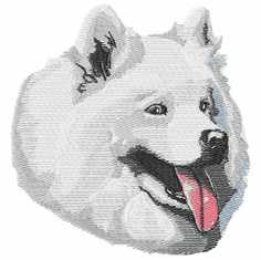 sam002 Samoyed (small or large design)
