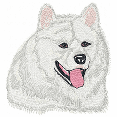 sam006 Samoyed (small or large design)