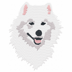 sam007 Samoyed (small or large design)