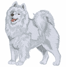 sam011 Samoyed (small or large design)