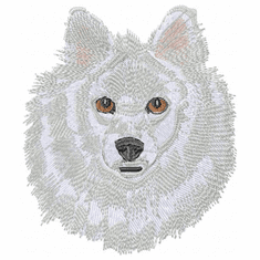 sam015 Samoyed (small or large design)