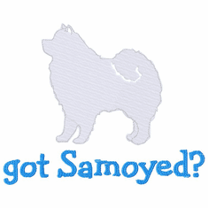 sam020 Samoyed (small or large design)