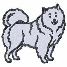 sam022 Samoyed (small or large design)